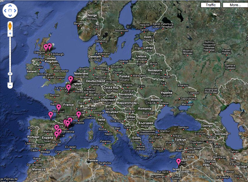 Google Earth Europe images