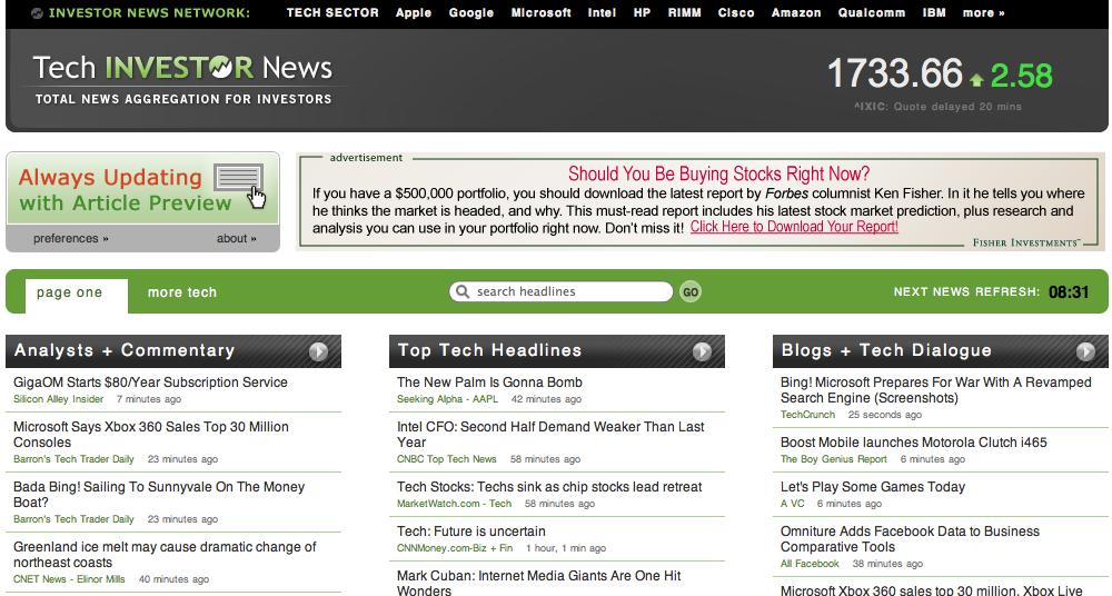 tech-investor-news