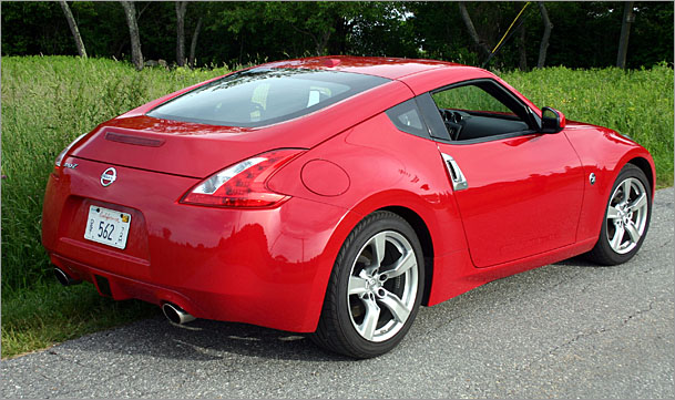 Nissan 370Z rear - 2009 Nissan 370z Touring Coupe