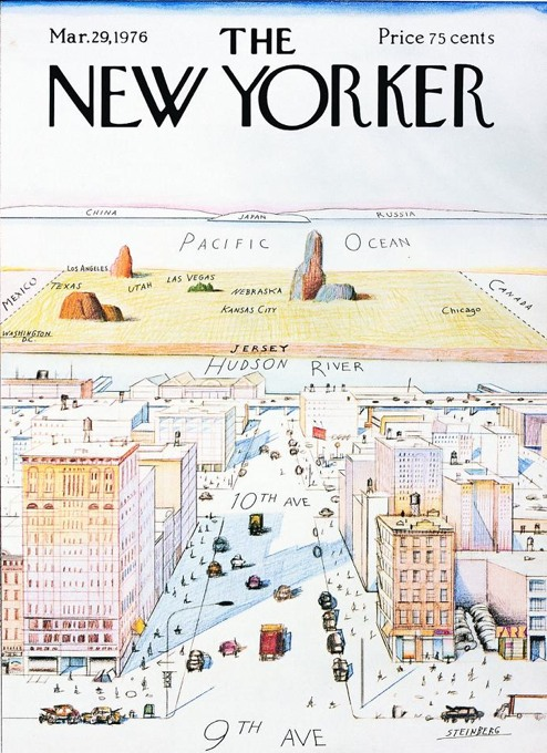 New Yorker's View of the World