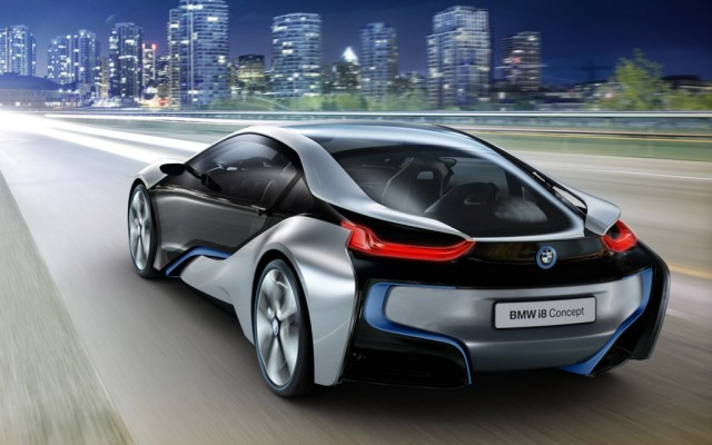 Bmw I8 Concept Plug In Hybrid Sports Coupe The Big Picture