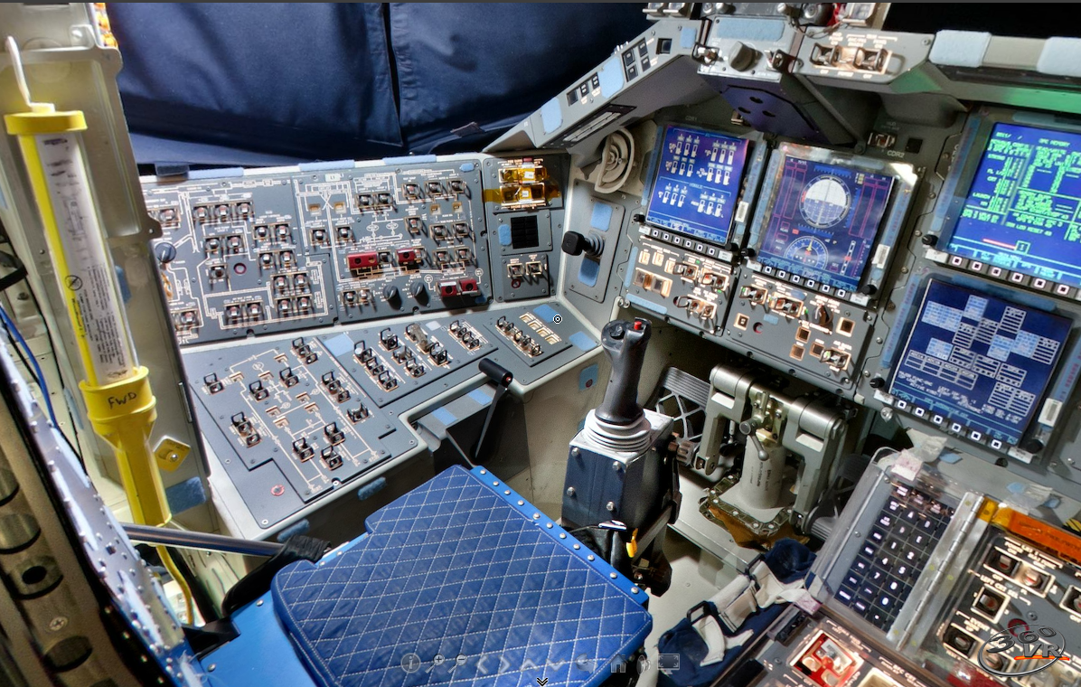 space shuttle discovery cockpit-#22