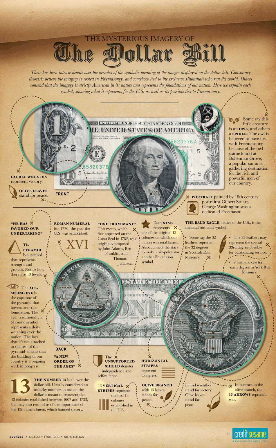 Some Info About The Dollar Bill Dollar