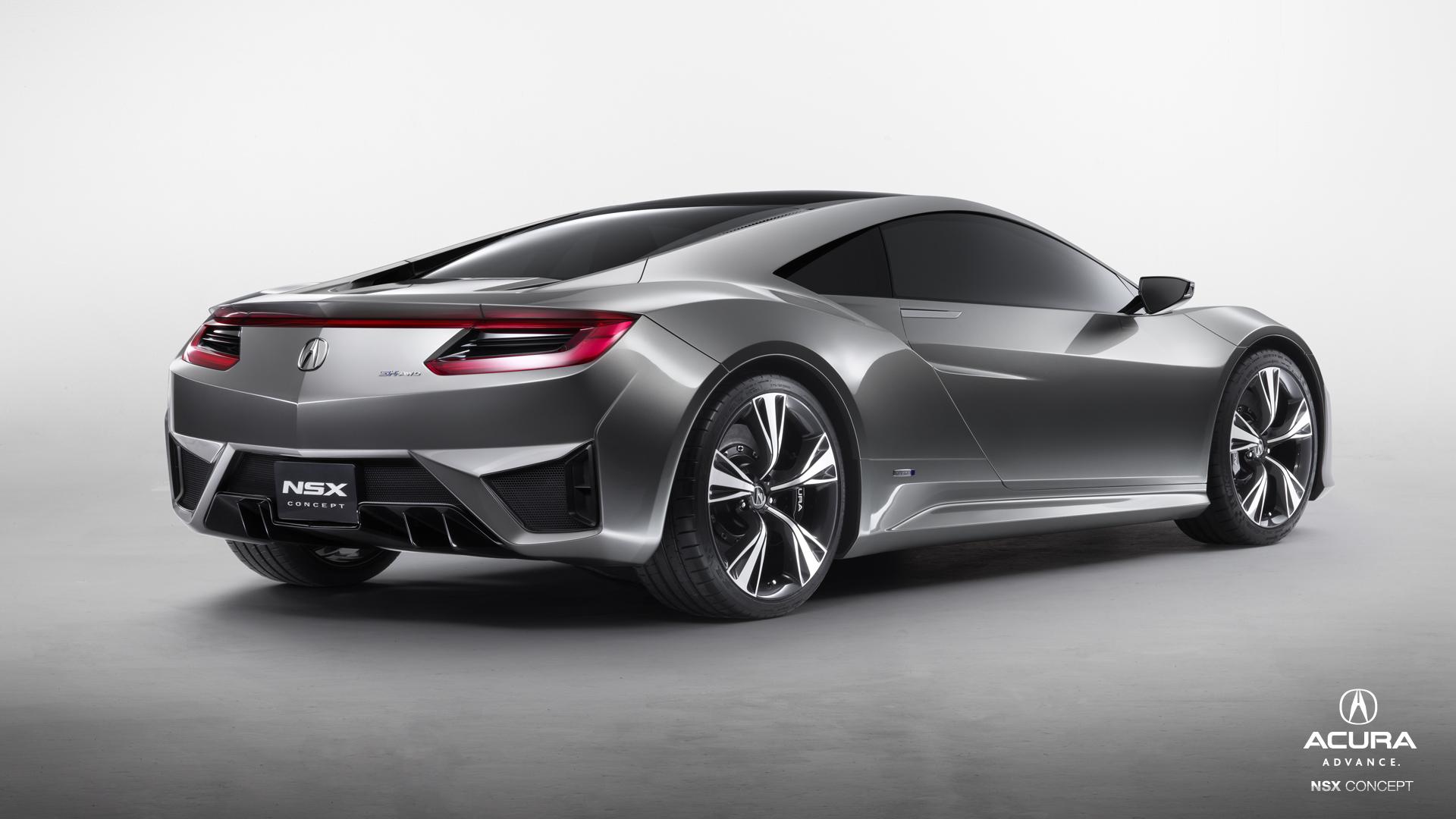 Honda NSX Concept 2014 V6 Sports Hybrid |