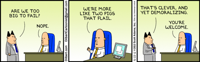 Best Sunday  ic Strips Food additionally Risk Management Cartoon together with Successful Erp Implementations as well Pacm parnes moreover Lessons From Catbert  pensation. on dilbert cloud