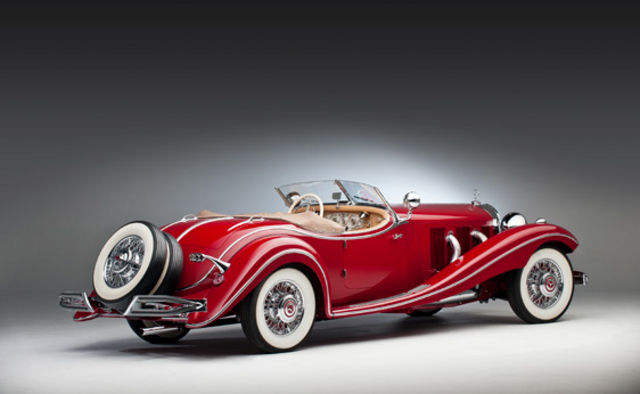 1935 mercedes benz 500k spezial roadster the big picture for Mercedes benz classic cars