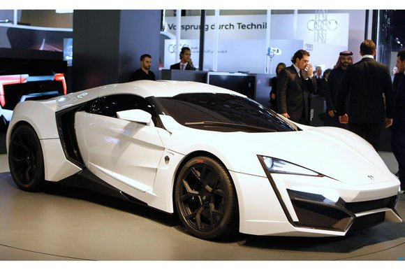 Lykan Hypersport World S Most Expensive Car The Big Picture