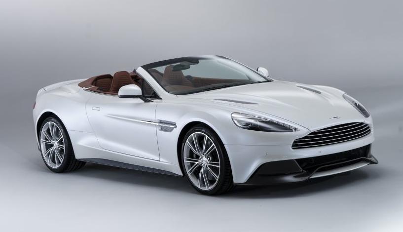2014 Aston Martin Vanquish Convertible The Big Picture