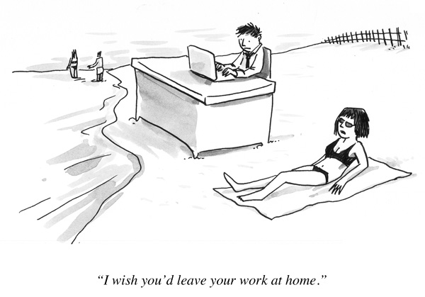 I Wish You D Leave Your Work At Home The Big Picture