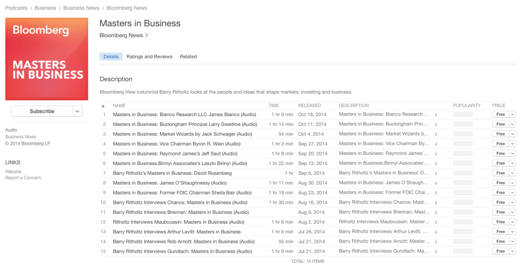 MiB now on iTunes