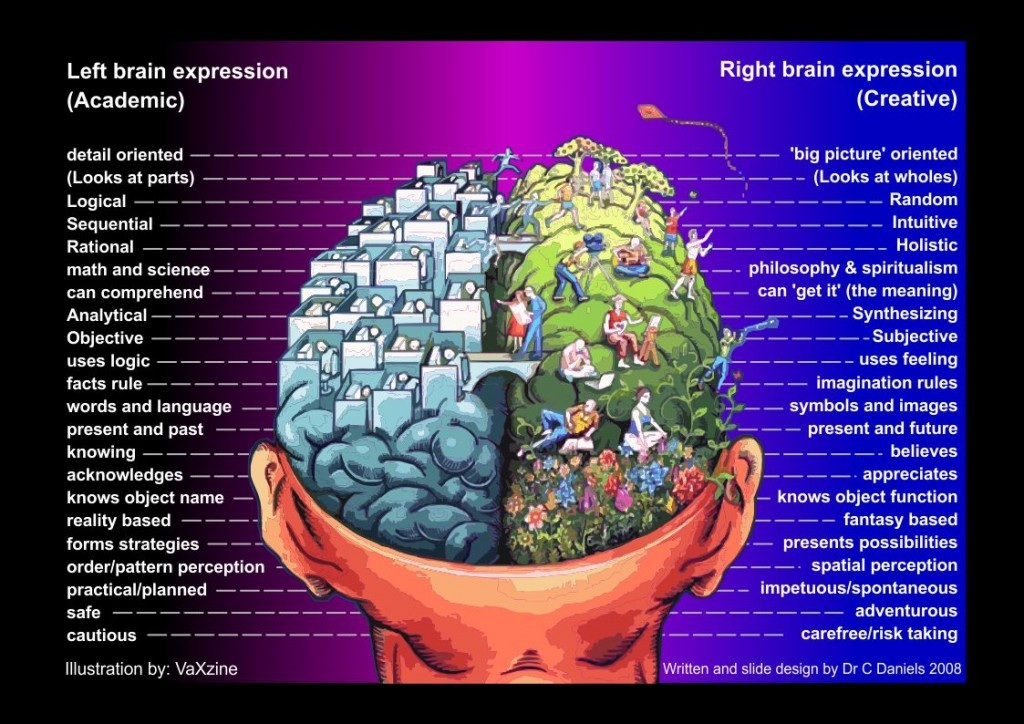 Both Sides of the Brain (Updated)