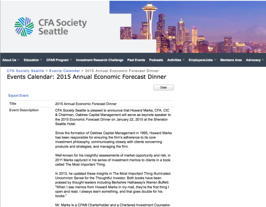 seattle cfa 2015