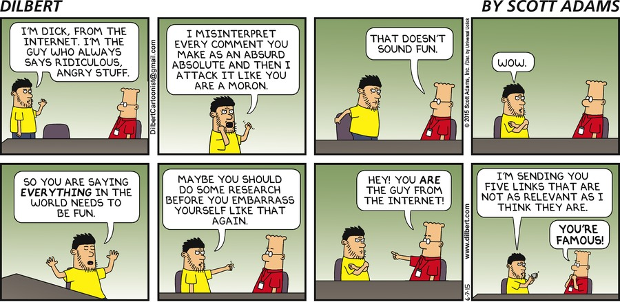 Healthcare Cartoons Cartoons About Healthcare moreover Dilberts Boss Hires A Social Media Manager further Bare Minimum Is Too Much Customer together with Dilbert likewise How To Effectively Inject Humor Into Social. on dilbert tech support
