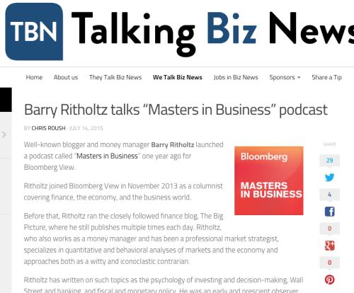 talk biz
