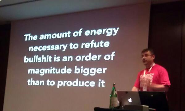 energy and bullshit