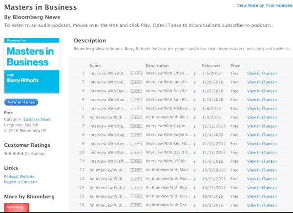 MiB iTunes