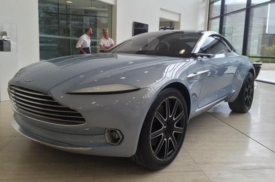 aston martin dbx crossover - the big picture
