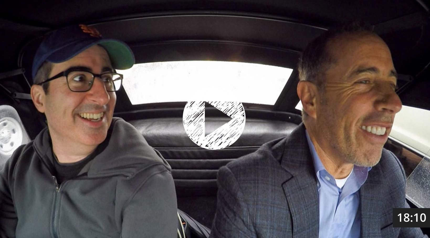 comedians in cars getting coffee john oliver the big. Black Bedroom Furniture Sets. Home Design Ideas