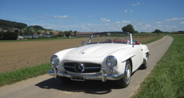 1957 Mercedes-Benz SL 190