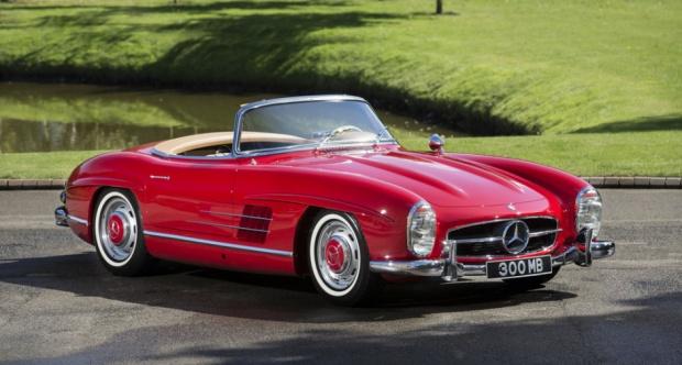 1961 Mercedes Benz 300 Sl The Big Picture