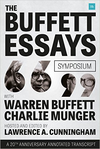 review of the essays of warren buffett Bill gates and warren buffett essay bill gates and warren buffett essay  there were many important aspects that can be learned from the review of the video.
