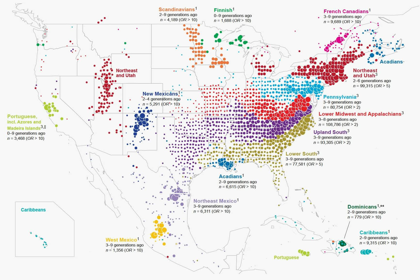 Map Of America 2017.Immigrant Map Of America The Big Picture