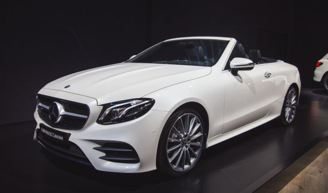 2018 Mercedes Benz E Class Cabriolet The Big Picture