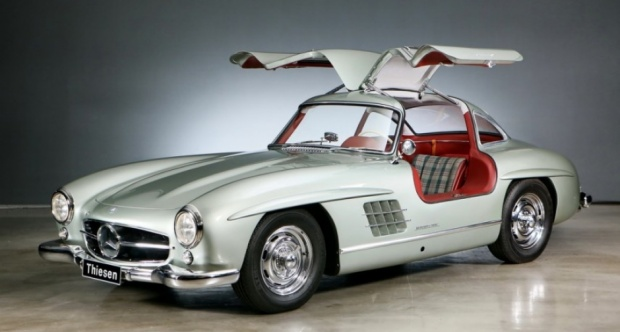 1956 mercedes-benz 300 sl gullwing - the big picture