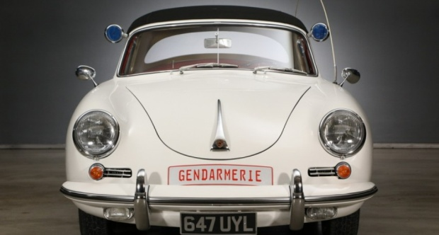 1961 Porsche 356 (Gendarmerie version)
