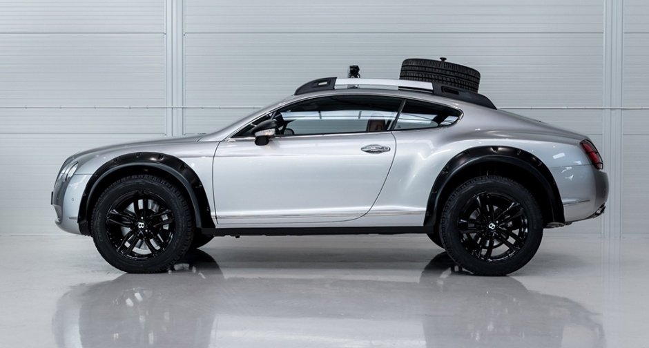 Bentley Continental Gt Off Road Edition The Big Picture