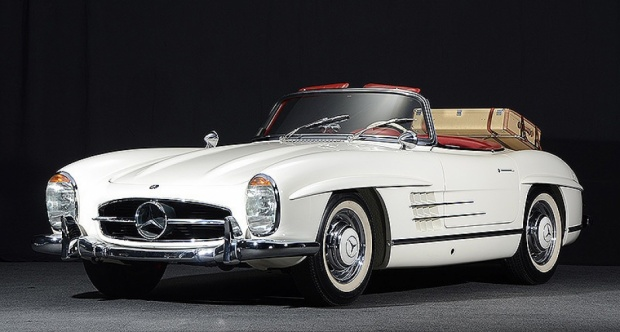 1963 mercedes benz 300 sl roadster the big picture. Black Bedroom Furniture Sets. Home Design Ideas