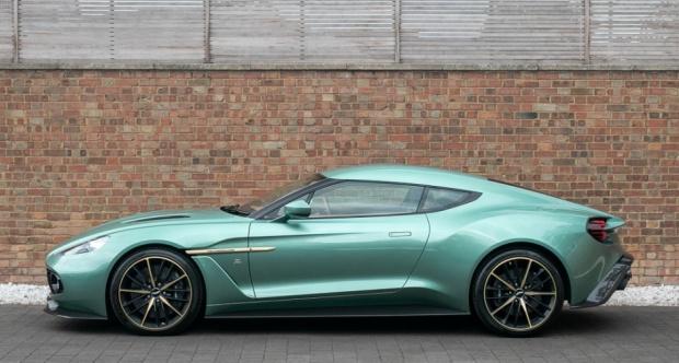 2017 Aston Martin Vanquish Zagato Coupe The Big Picture