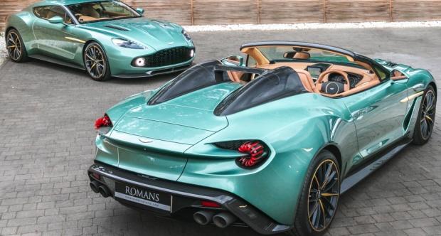 Martin Vanquish Zagato Coupe