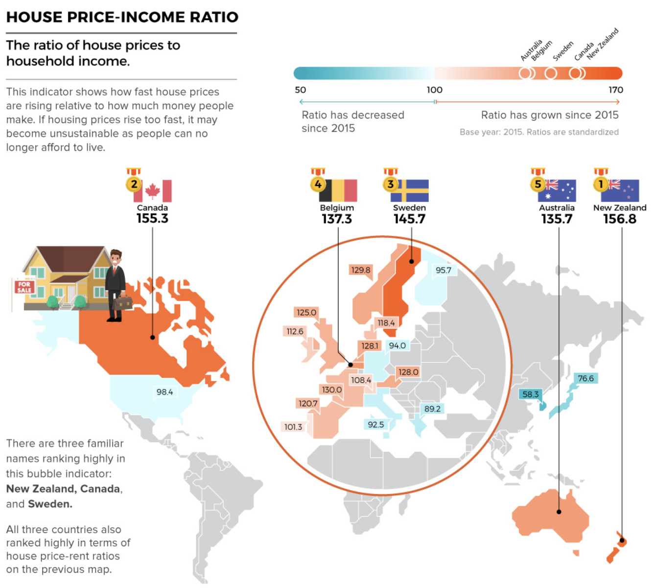 Countries With The Highest Housing Bubble Risks The Big