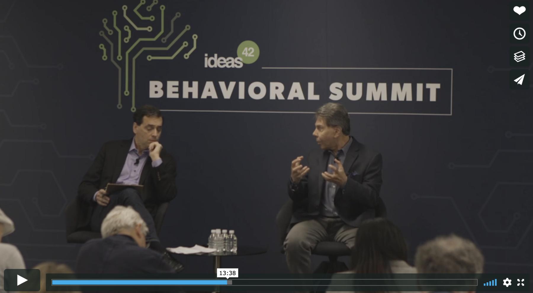 Robert Cialdini Behavioral Summit 2018