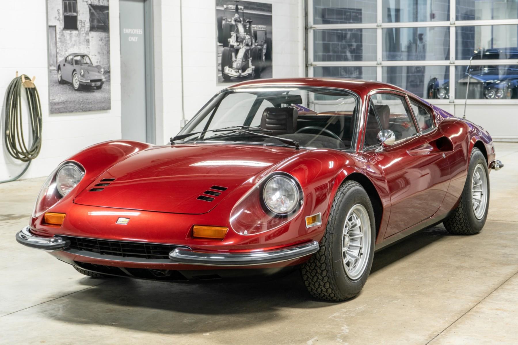 1972 Ferrari Dino 246 Gt The Big Picture