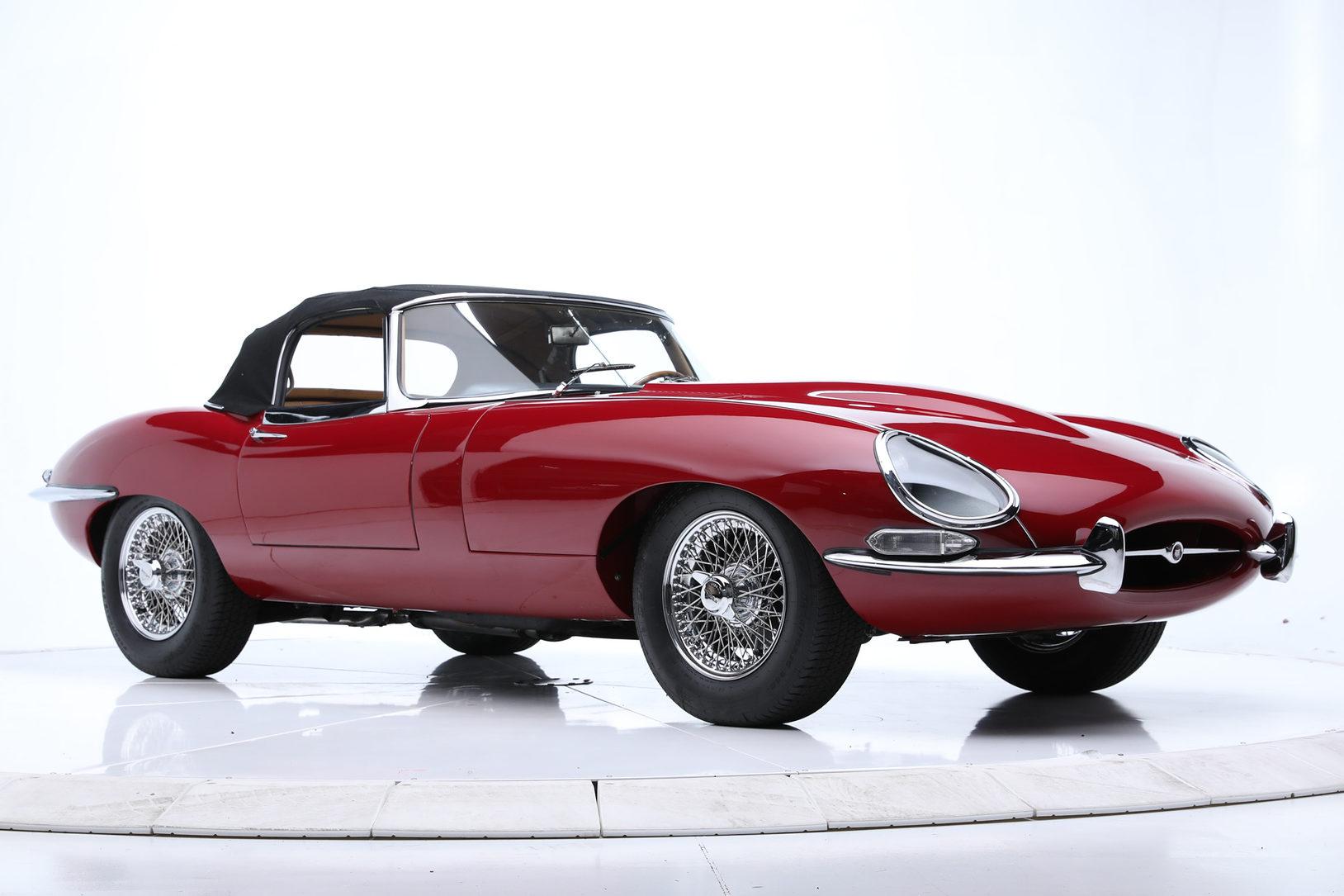 1964 Jaguar XKE Series I 3.8 Roadster 9