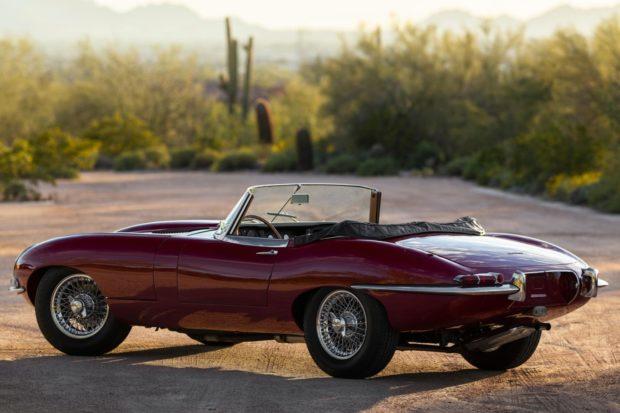 1964 Jaguar XKE Series I 3.8 Roadster 3