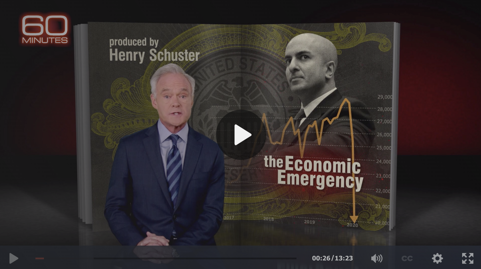 60 Minutes: Neel Kashkari on this Economic Emergency 1
