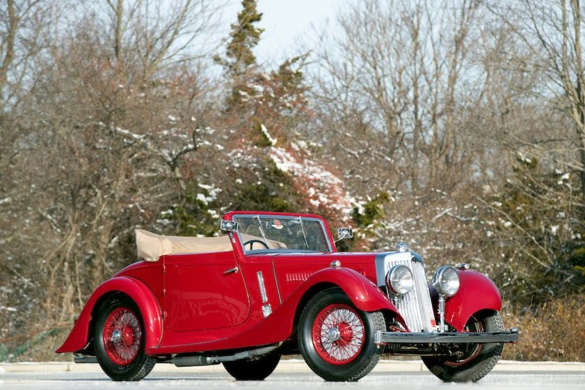 1937 Aston Martin 15/98 Short-Chassis Drophead Coupe 2