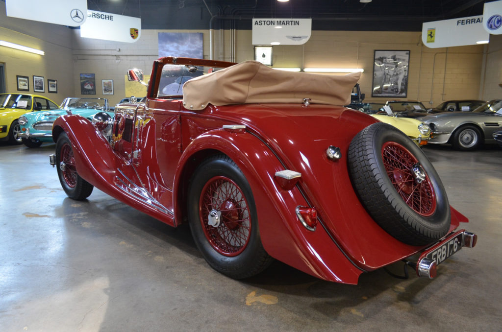 1937 Aston Martin 15/98 Short-Chassis Drophead Coupe 10