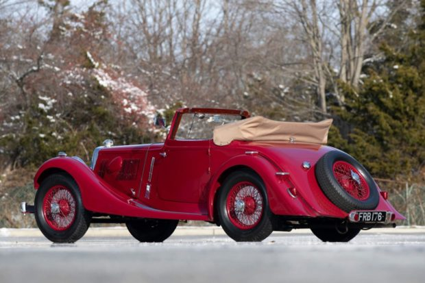 1937 Aston Martin 15/98 Short-Chassis Drophead Coupe 3