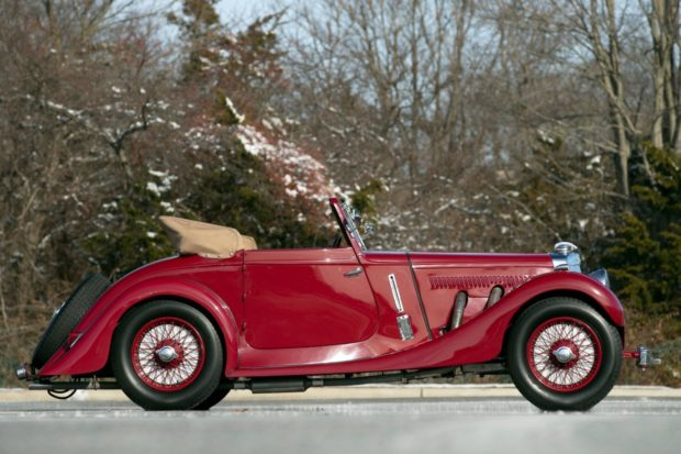 1937 Aston Martin 15/98 Short-Chassis Drophead Coupe 4