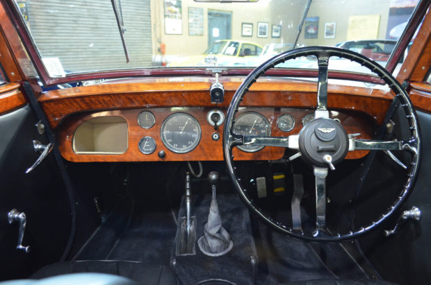 1937 Aston Martin 15/98 Short-Chassis Drophead Coupe 6