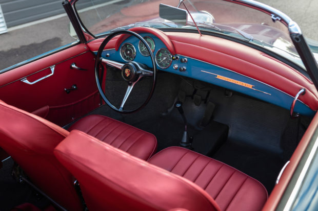 1962 Porsche 356B Twin Grille Roadster 5