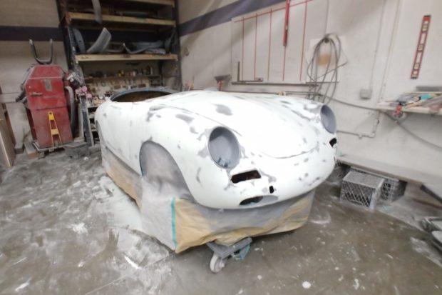 1962 Porsche 356B Twin Grille Roadster 11