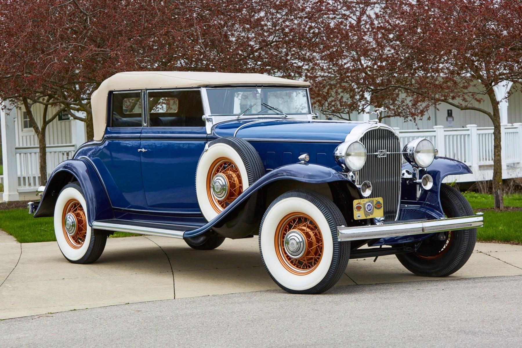 1932 Buick Model 98 Convertible Phaeton 2
