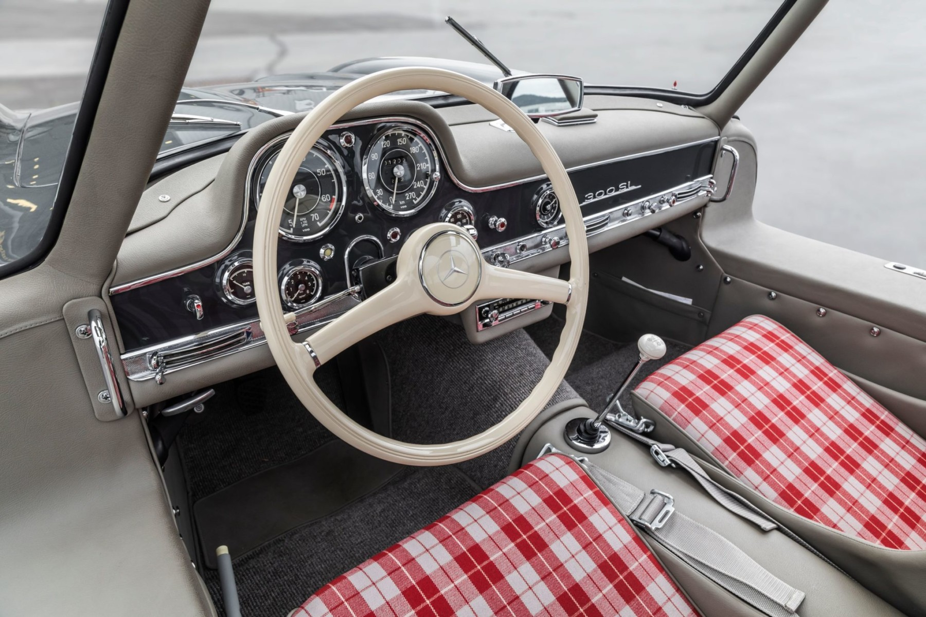1956 Mercedes-Benz 300SL Gullwing 22