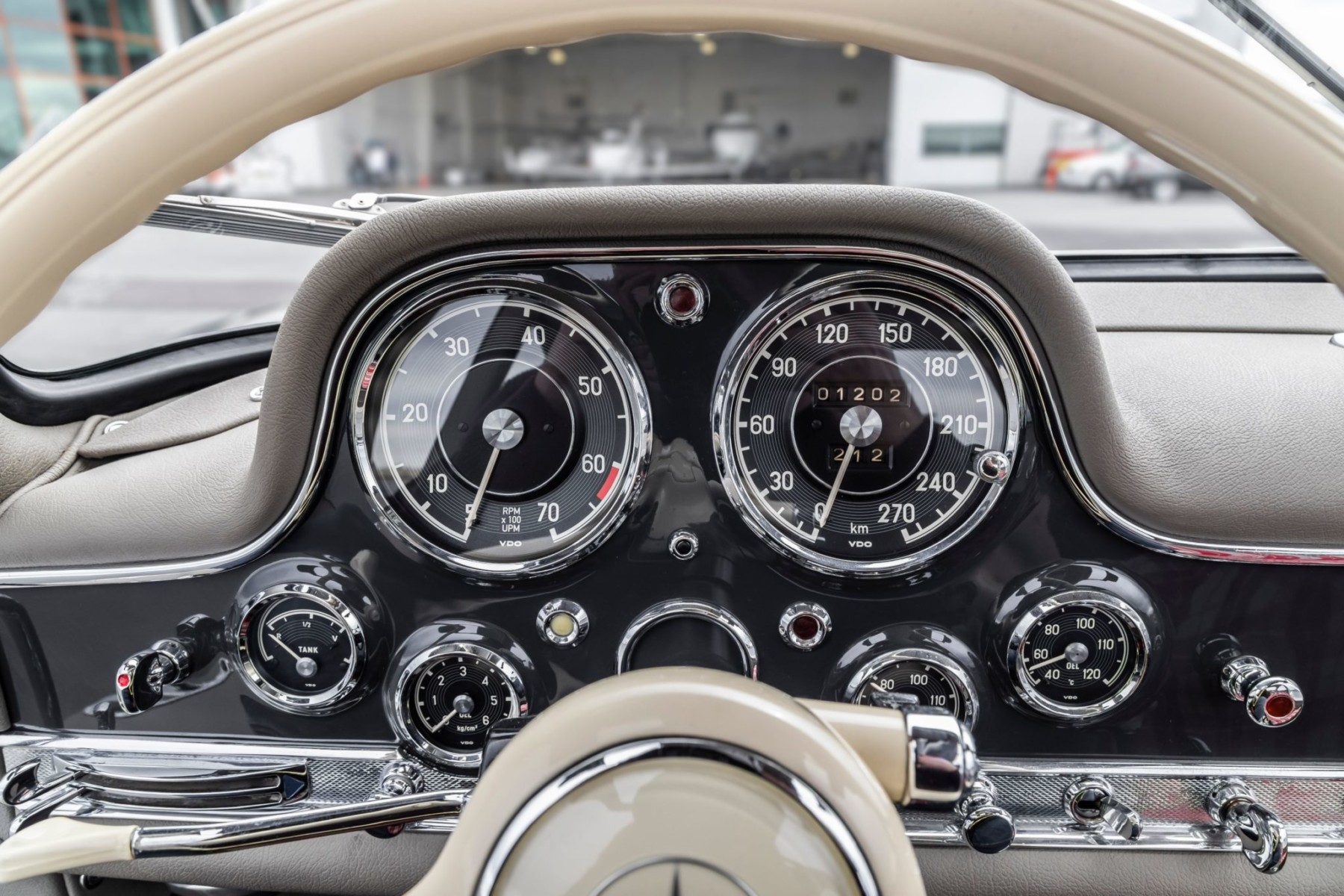 1956 Mercedes-Benz 300SL Gullwing 21