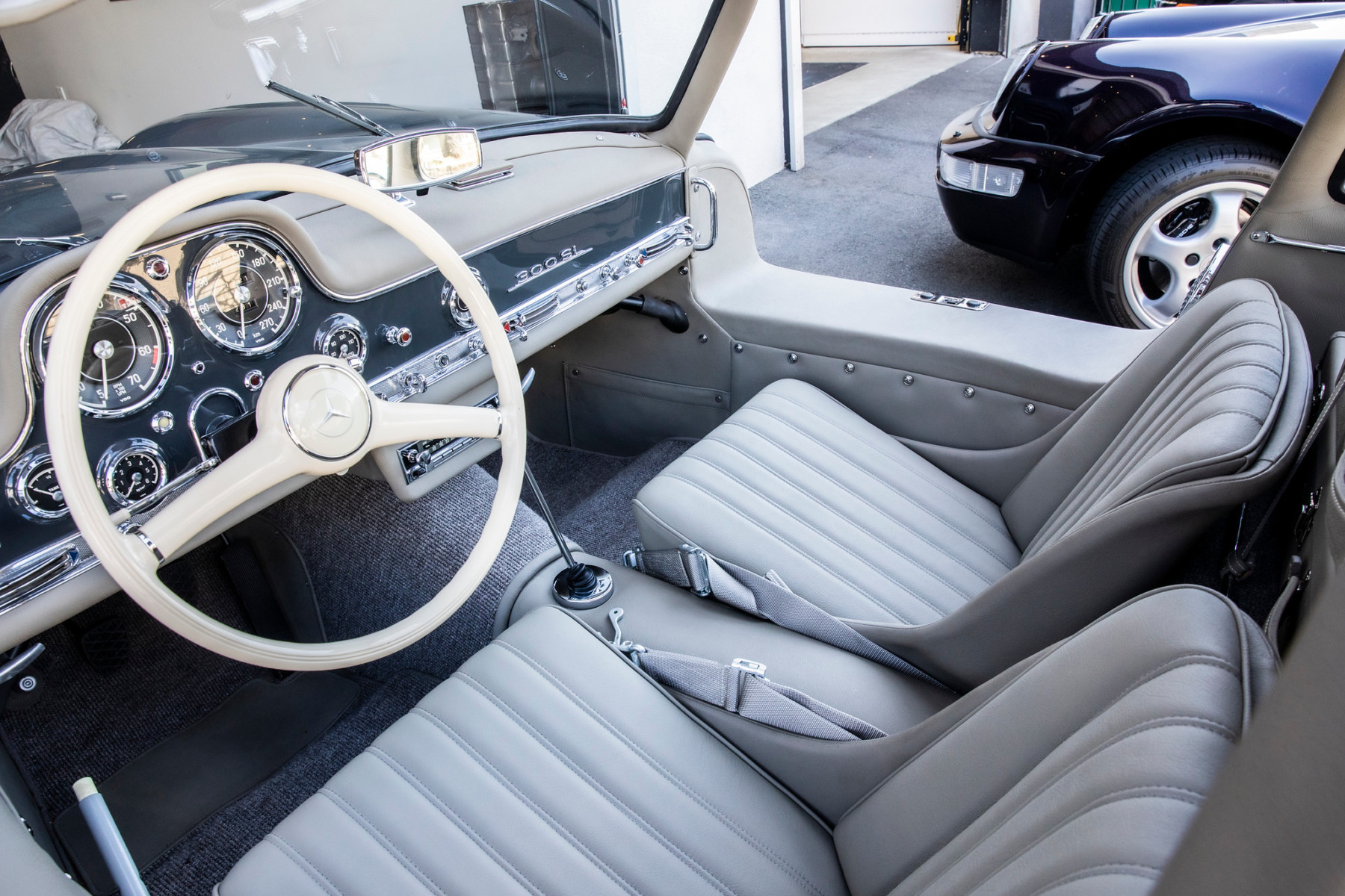 1956 Mercedes-Benz 300SL Gullwing 18